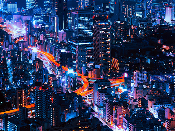 smart city at night thumbnail